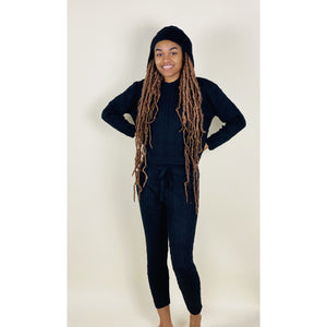 It's Chilly Set - Black - Quisha's Closet