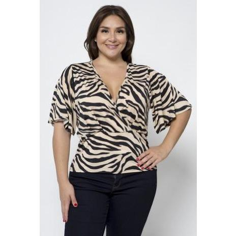 Jackie's Queen of the Jungle Blouse - Quisha's Closet
