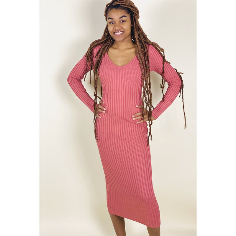 Temptation Dress - Rose - Quisha's Closet