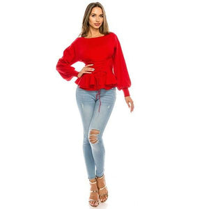 Tie Me Up Sweater - Quisha's Closet