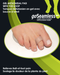 Hallux valgus bunion joints toes comfort cushion alignment metatarsal impact friction hypoallergenic gel