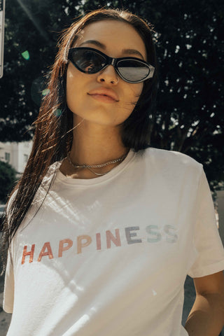 O&F Happiness Tee