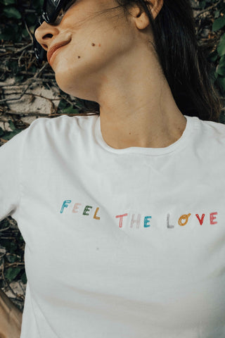 O&F Feel the Love Tee