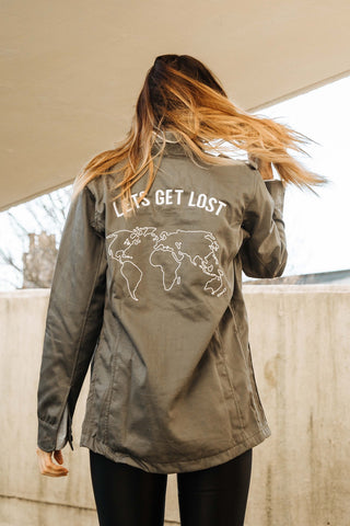 Get Lost Military Jacket