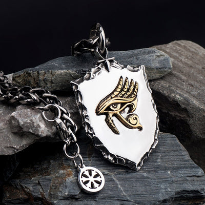 The Eye of Horus necklace stainless steel - Razzyy