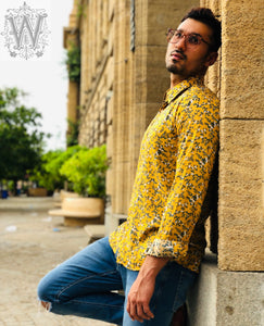 Yellow Floral Shirt.