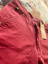 Load image into Gallery viewer, Maroon Twill Shorts.
