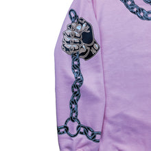 "Load image into Gallery viewer, ""Cerberus"" Hoodie OVERSIZED PINK"
