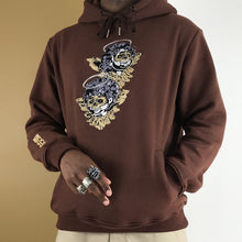 "Load image into Gallery viewer, ""BROWN Cherub"" Hoodie EMBROIDERED"