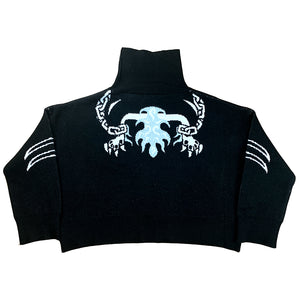 """CG Cerberus"" Knit Sweater Black"