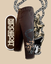 "Load image into Gallery viewer, ""Cerberus"" Pants Brown"