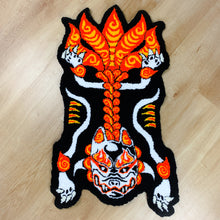 "Load image into Gallery viewer, HAND MADE ""Kitsune "" WALL HANGING RUG"