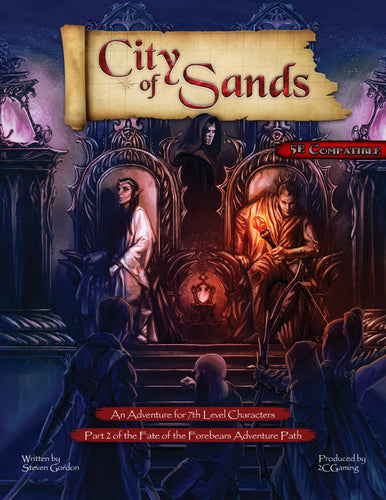 Fate of the Forebears - Part 2: City of Sands (PDF)