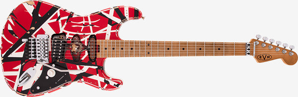 EVH® Striped Series Frankie guitar
