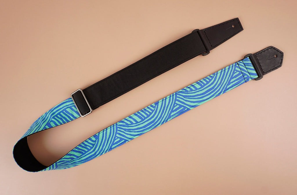 4uke guitar strap with dream printed-front-1