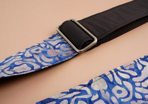 4uke guitar strap with maze printed-detail-2