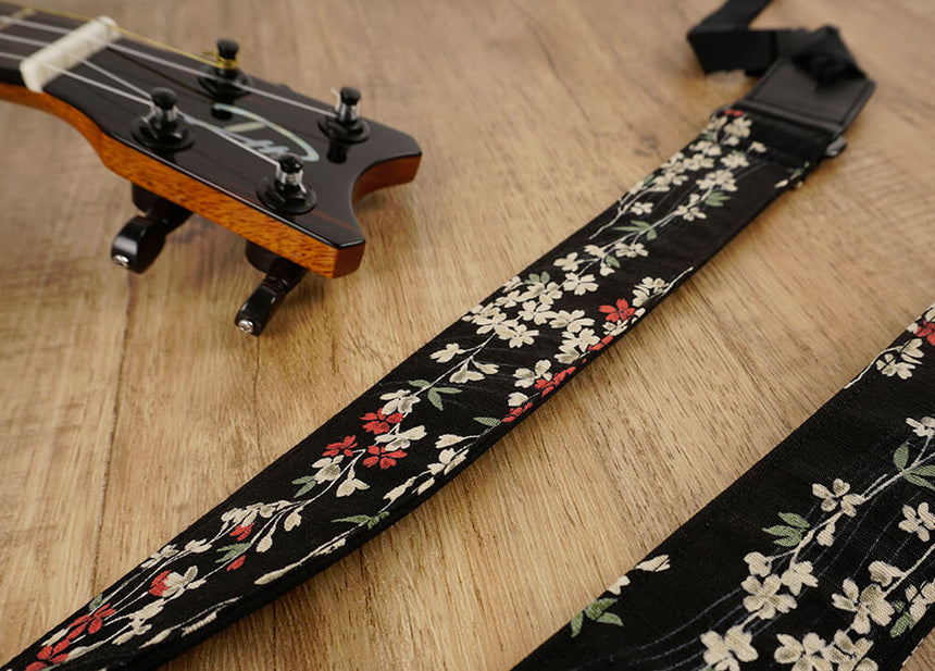 Weeping Cherry Ukulele Shoulder Strap-detail-4