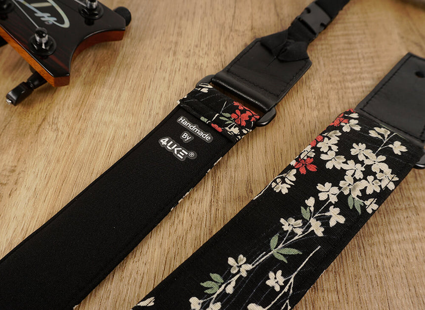 Weeping Cherry Ukulele Shoulder Strap-detail-5