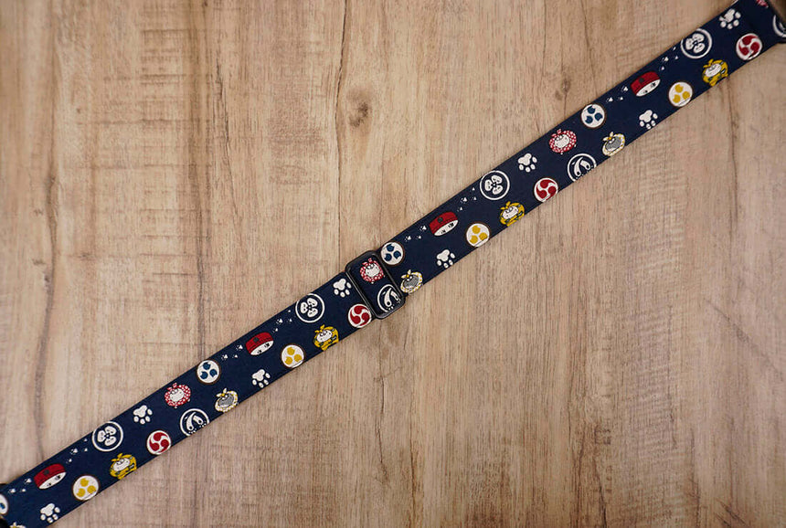 Anime cat clip on ukulele hook strap -4