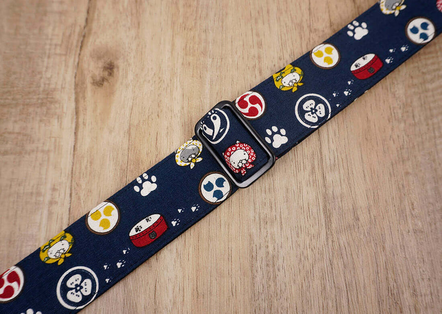 Anime cat clip on ukulele hook strap -6