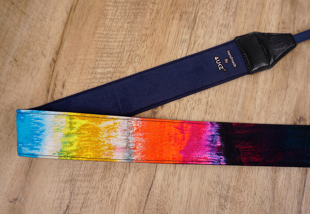 Color graffiti camera strap-4