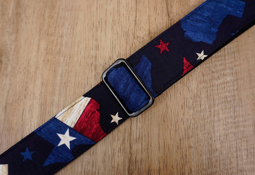 American flag clip on ukulele hook strap no drill, no button -6