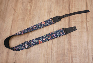 nature world ukulele shoulder strap with leather ends-2