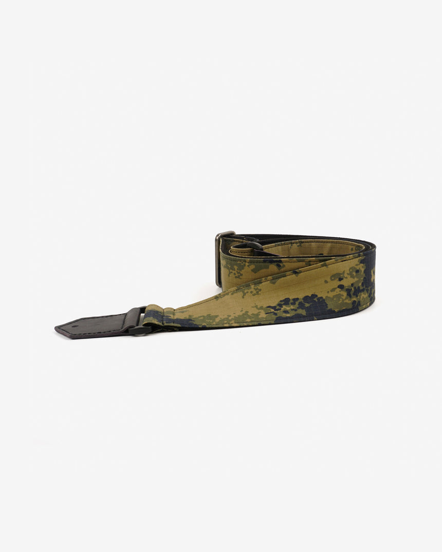 guitar strap with camouflage-2 printed-front-1