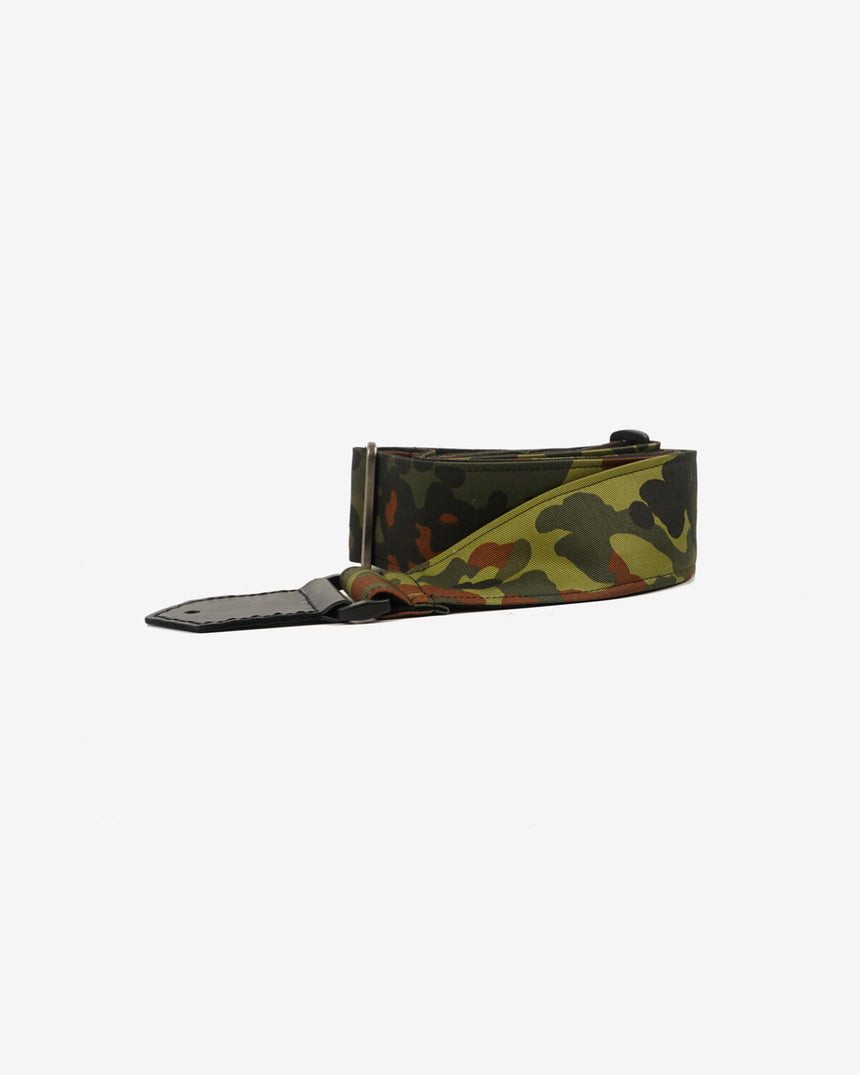 guitar strap with camouflage-1 printed-front-1