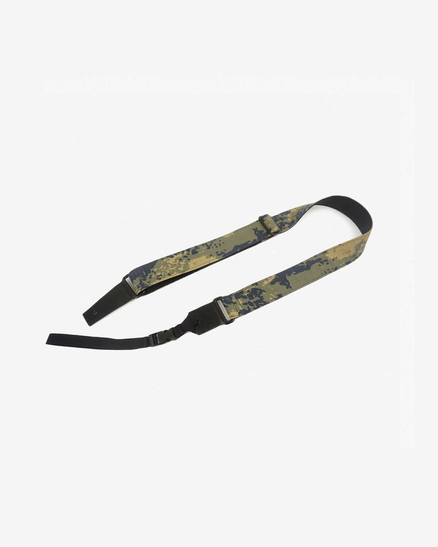 ukulele shoulder strap with camouflage printed-front-1