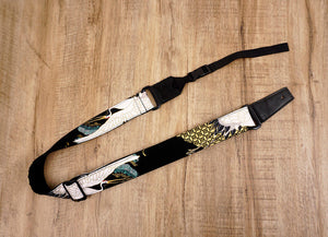 crane and pine ukulele shoulder strap with leather ends-2