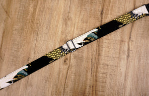 crane and pine ukulele shoulder strap with leather ends-7
