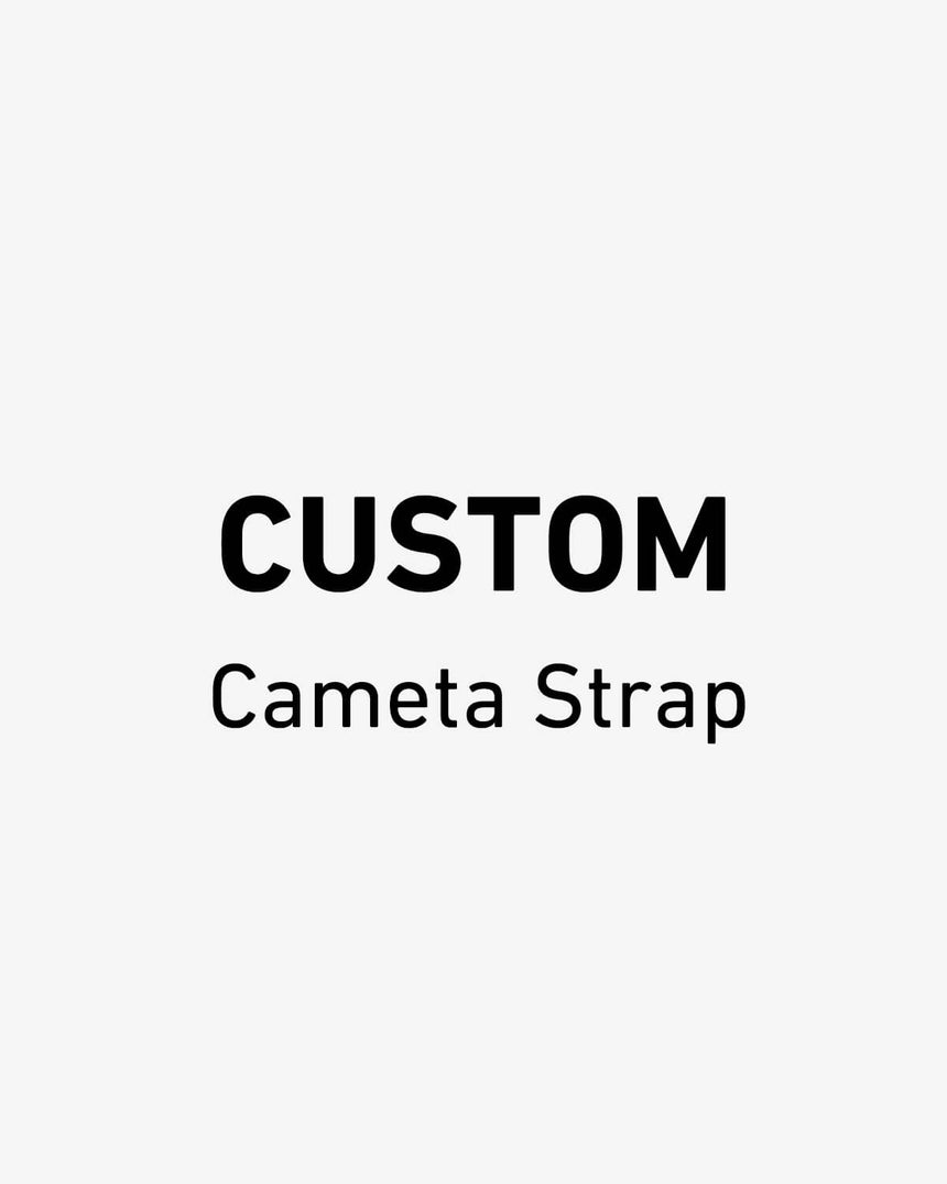 Custom Camera Strap With Name