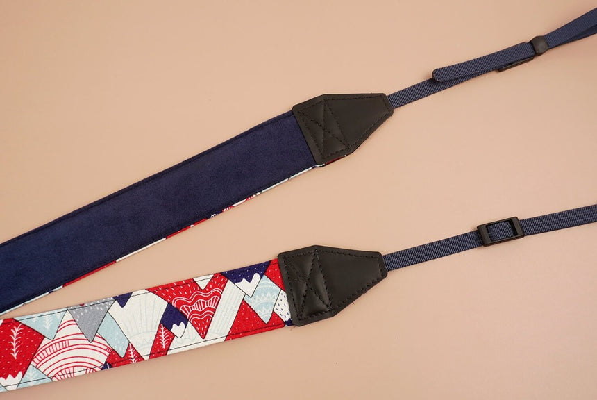 hill and forest printed camera strap-4