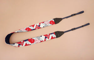 hill and forest printed camera strap-3