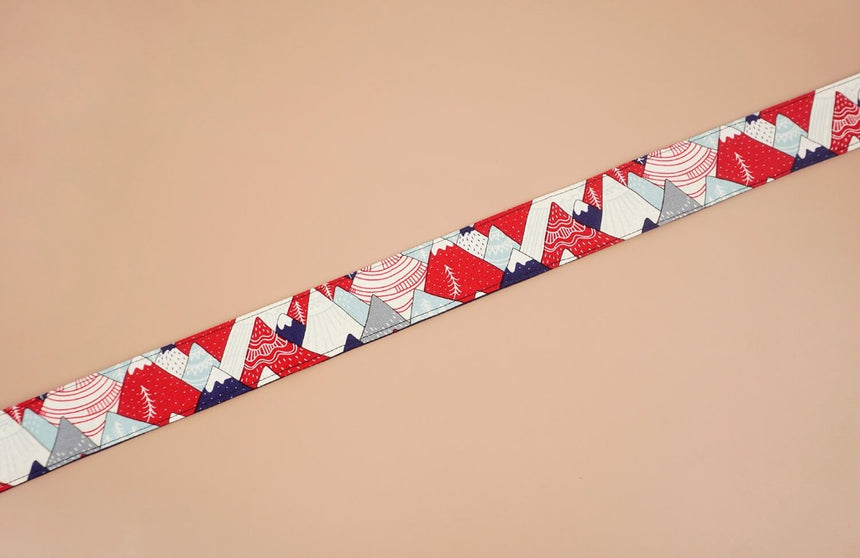 hill and forest printed camera strap-5