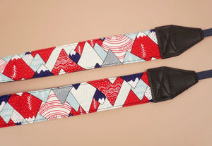 hill and forest printed camera strap-7