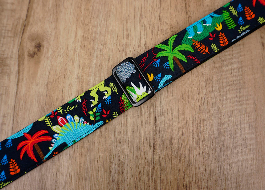 jungle and dinosaur cute ukulele shoulder strap -4