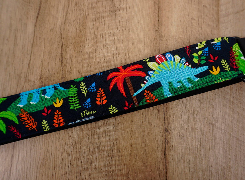 jungle and dinosaur cute ukulele shoulder strap -7
