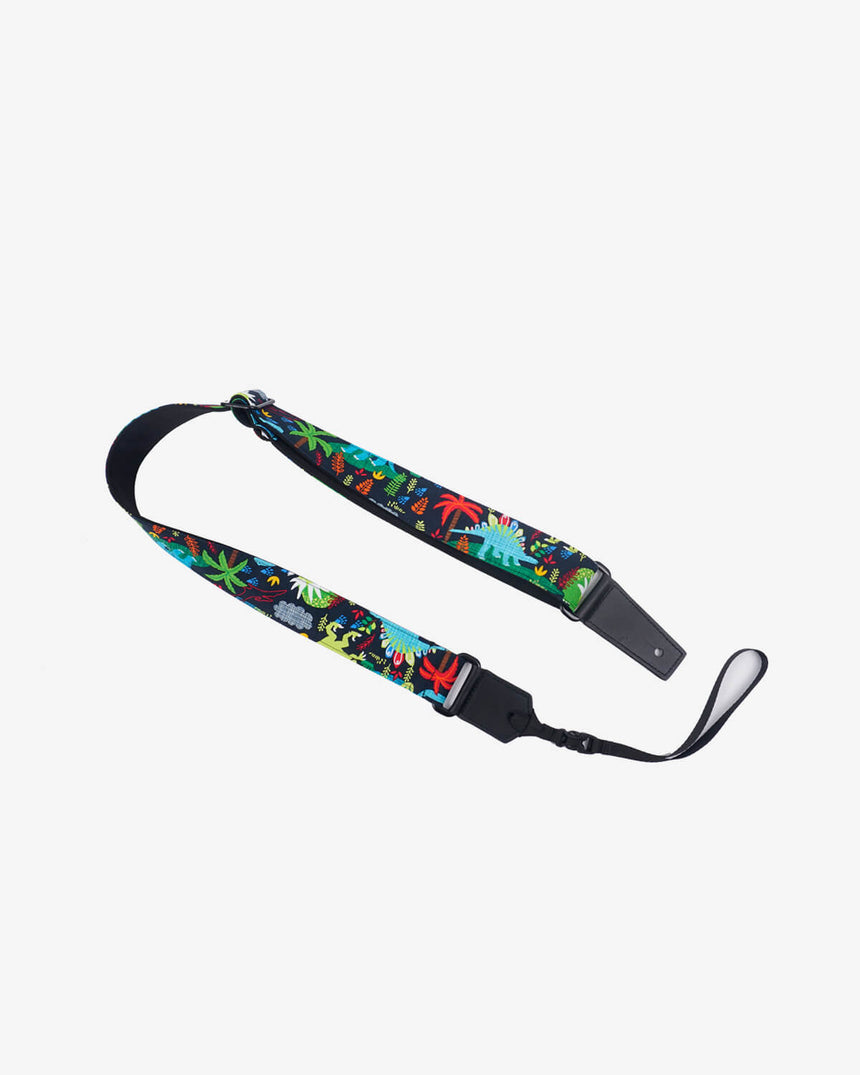 jungle and dinosaur cute ukulele shoulder strap -1