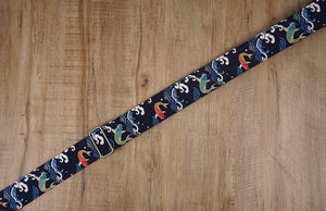 koi fish guitar strap