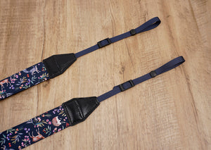 Nature world printed camera strap-4