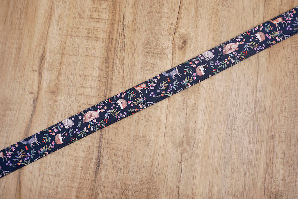 Nature world printed camera strap-5