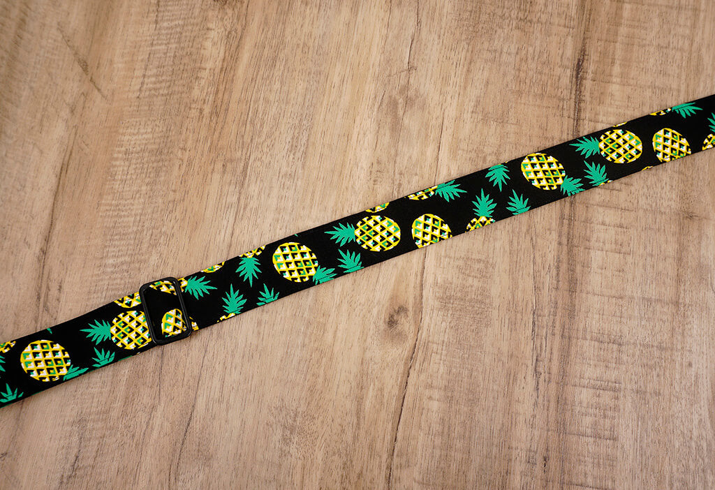 pineapple clip on ukulele hook strap-6