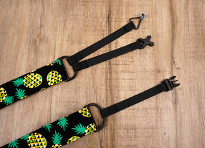 pineapple clip on ukulele hook strap-7