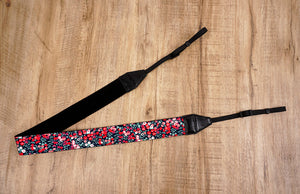 red berry camera strap-6