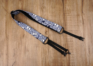 shark clip on ukulele hook strap-2