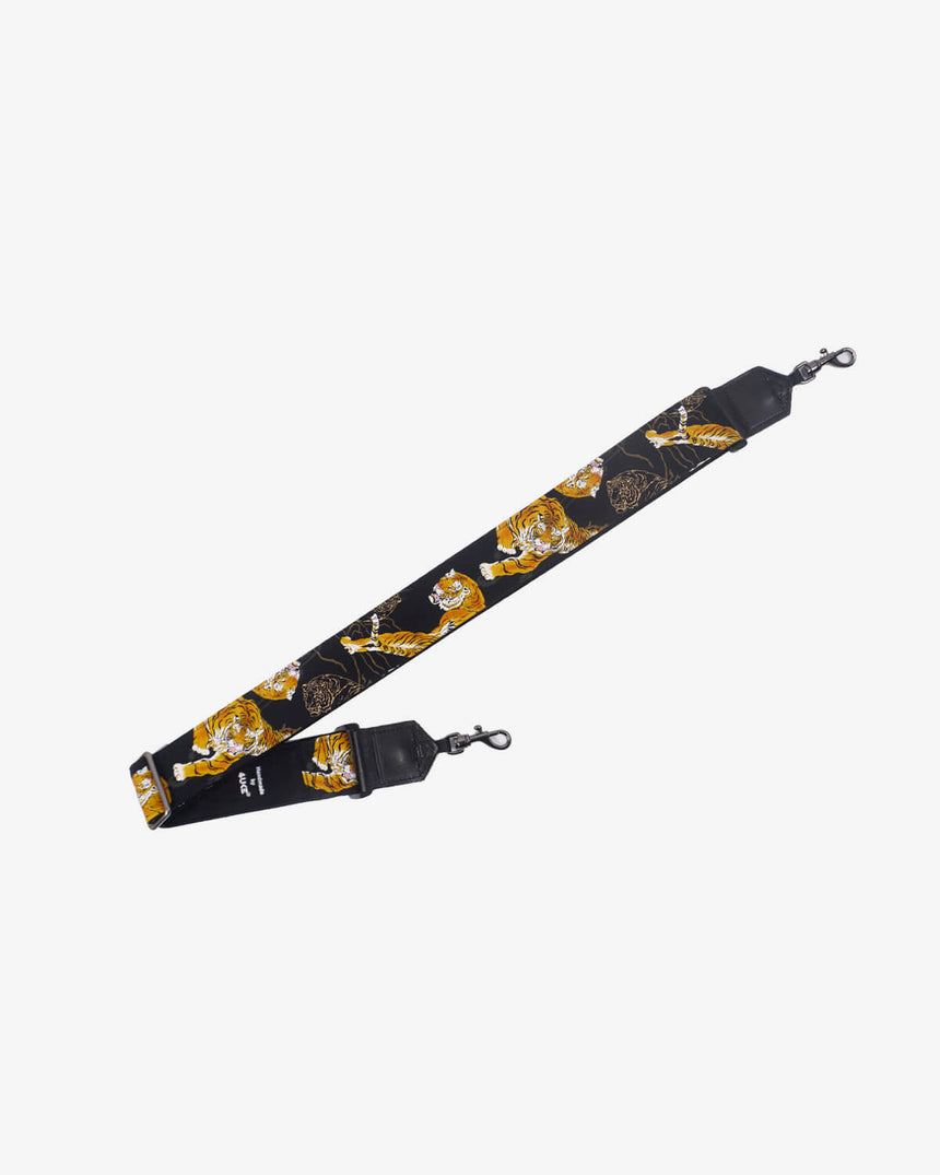 yellow tiger banjo strap with hook-1
