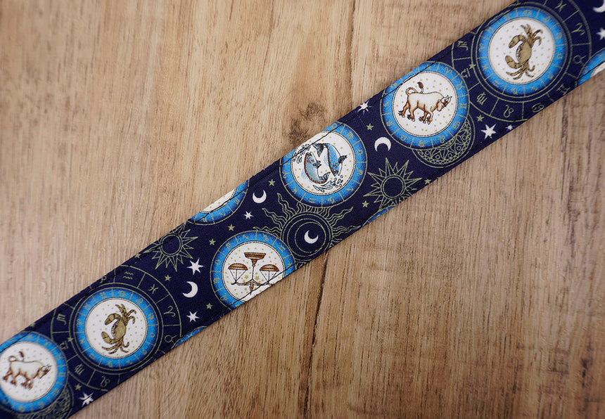 zodiac signs clip on ukulele hook strap no drilling, no button-2