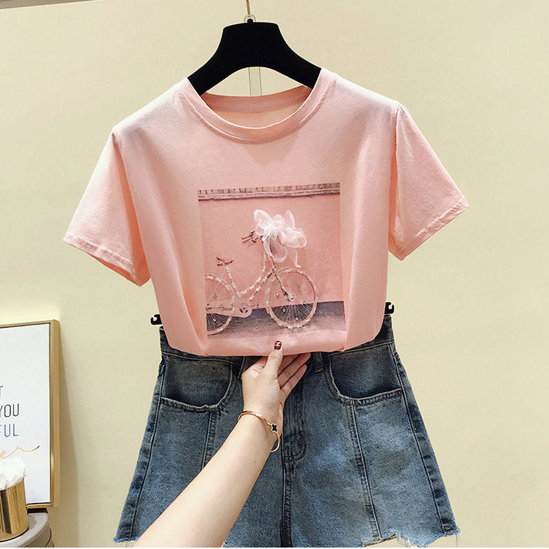 T-Shirt Fashion Rose
